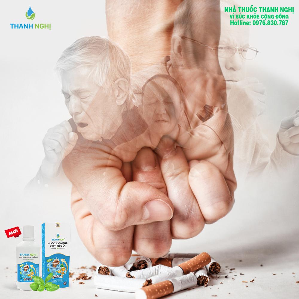 cai thuốc lá thanh nghị